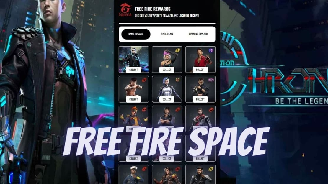 free fire space apk